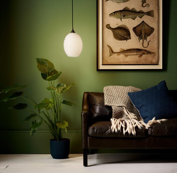 Opaline-Glass-Beehive-Pendant-Light