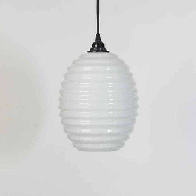 trainspotters lighting opaline beehive pendant
