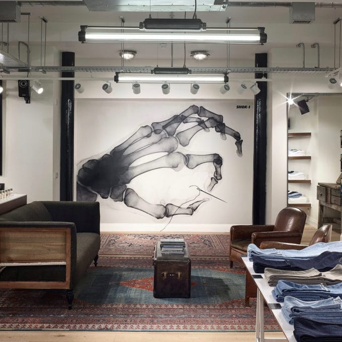 trainspotters lighting projects rag and bone london