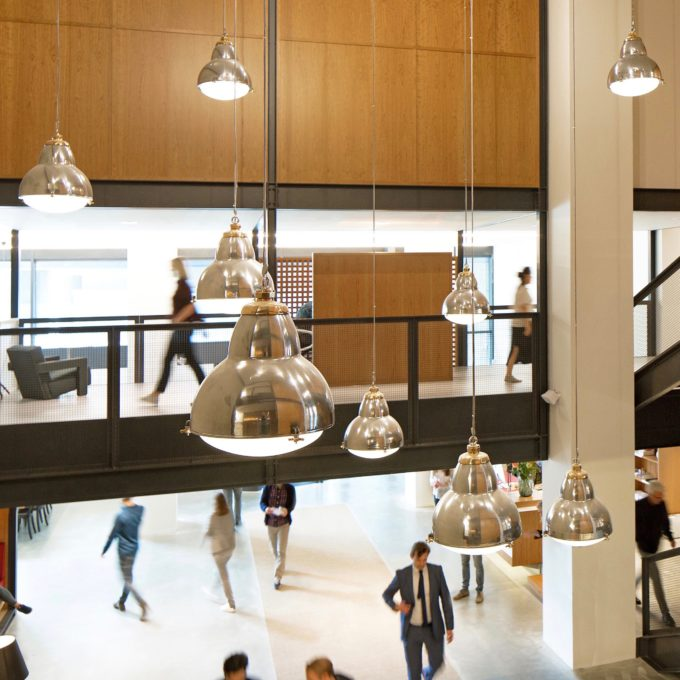 trainspotters lighting projects spaces coworking rotterdam