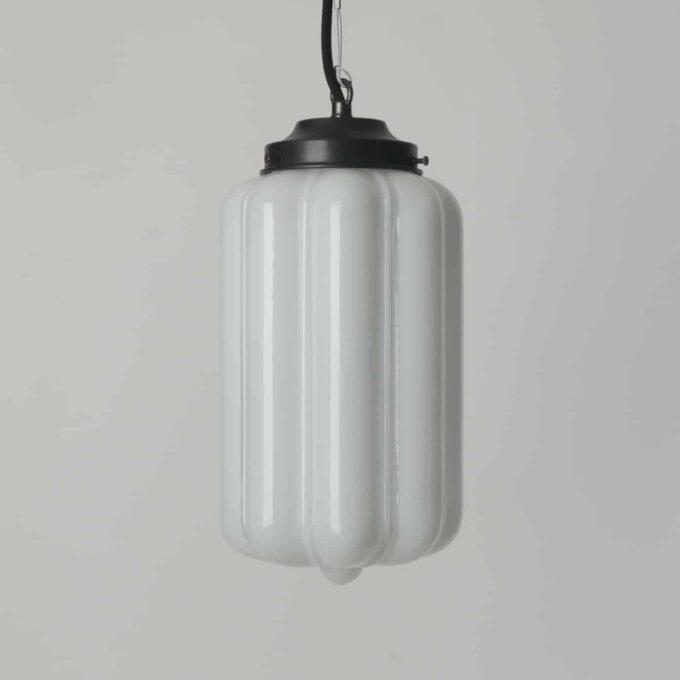 trainspotters lighting pendant opaline glass deco