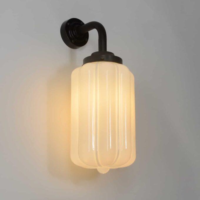 trainspotters lighting pendant opaline glass wall light deco