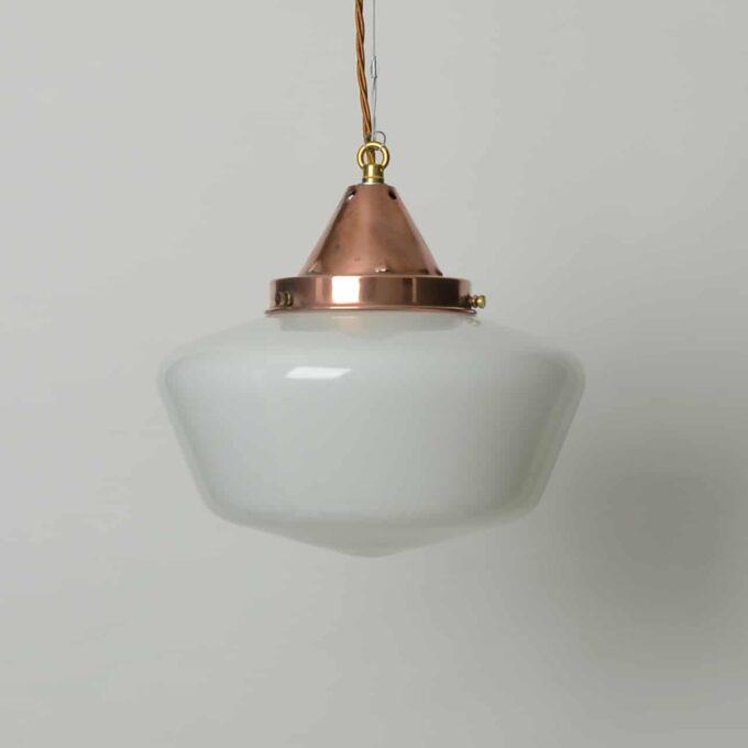 trainspotters lighting vintage 1920s opaline hall light
