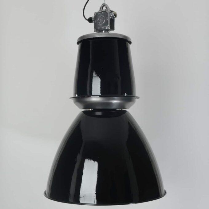 trainspotters lighting vintage giant czech pendant light black