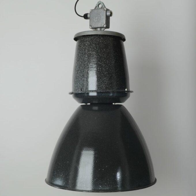 trainspotters lighting vintage giant czech pendant light original condition