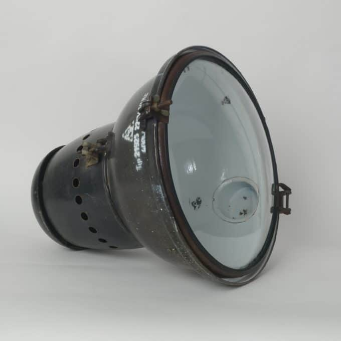 trainspotters lighting vintage hungarian EKA pendant light type 2