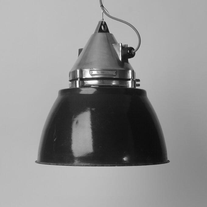 trainspotters lighting vintage czech arms factory pendant MK I polished