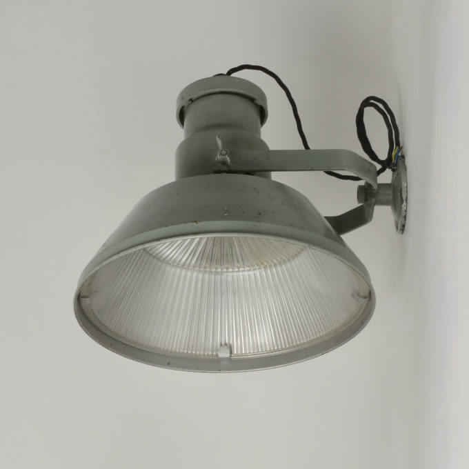 trainspotters lighting vintage industrial wall holophane